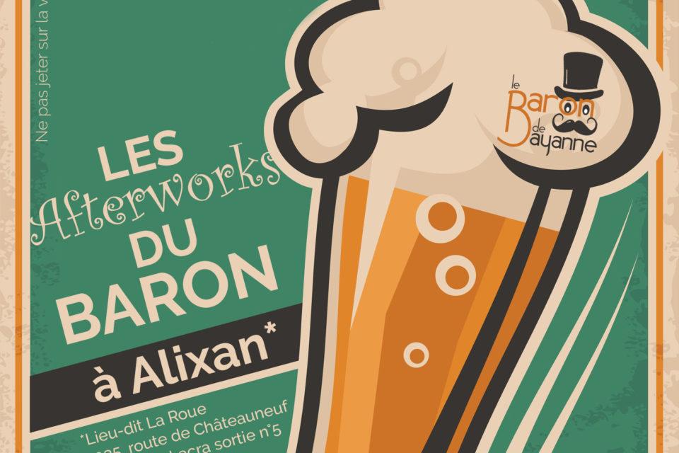 ANNULE // Les Afterworks du Baron