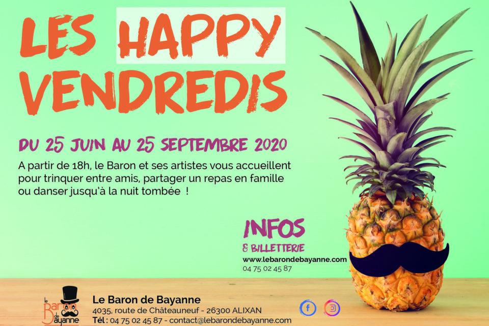 Happy Vendredis : DES CHANSONS QUI RACONTENT